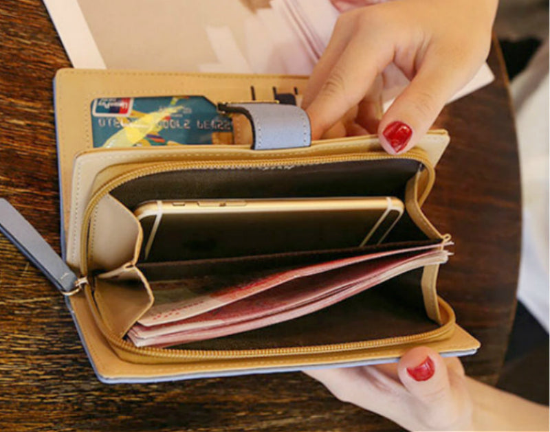 Wallets for Women Soft PU Leather