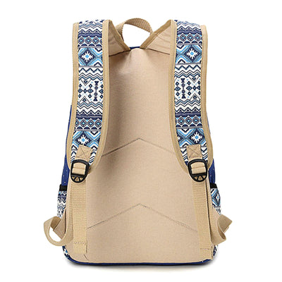 Canvas Dot Backpack for Women