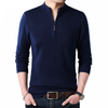 Cashmere Sweaters for Men  Pullover 1/4  Zipper Turtleneck