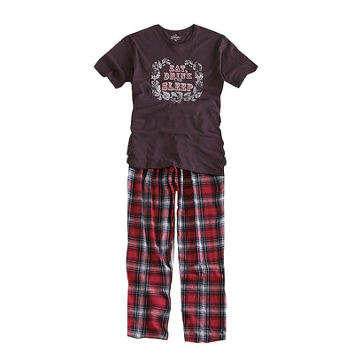Mens  Pyjamas Cotton Short Sleeve