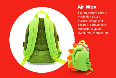 Backpacks  Kid 3D Cartoon Dinosaur