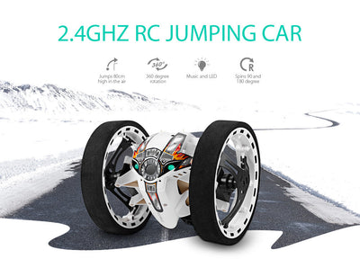 RC  Jumping Cars  LED Night Toys