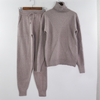 Knitted Turtleneck Pullovers  Sweater for Women 2 Pieces Set  Sweater + Pants