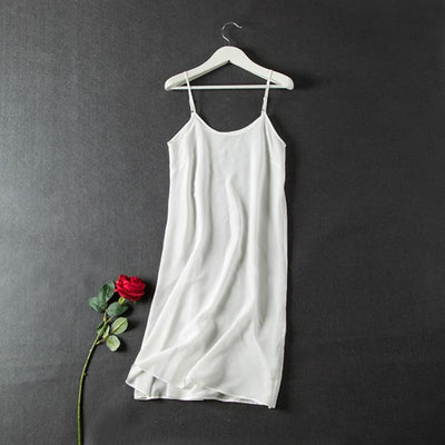 Nightgowns for Women Comfortable Silk Sleeveless