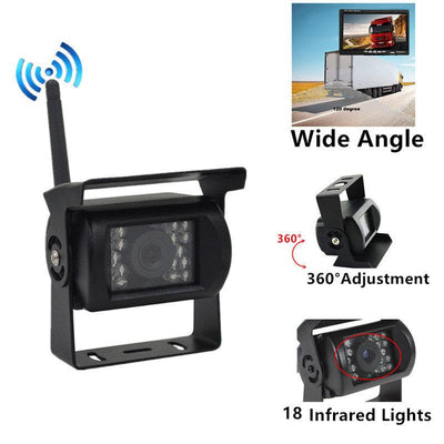 Wireless Backup Camera Parking for RV Truck