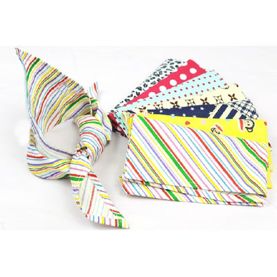 Dog Cotton Bandanas Mix 40 Colors