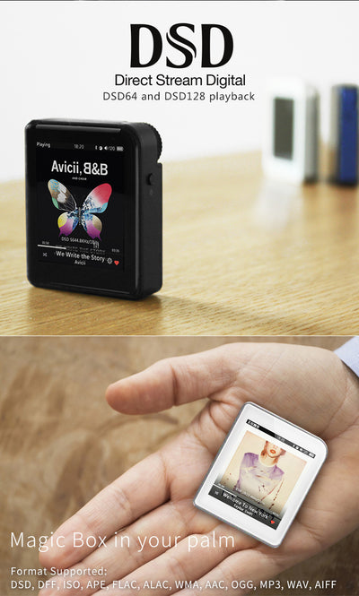 Music Player Portable MP3 Bluetooth