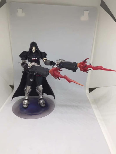 "PVC Action Figures 7"" OW Figma 393 Overwatches Reaper Series"
