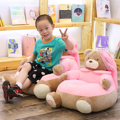 Teddy Bear Sofa Chair  Plush Toys Lovely Cartoon 22 inches