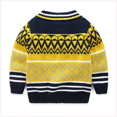Thick Cotton Sweaters for Boys