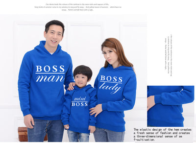 Family Matching Outfits  Hooded Sweatshirt