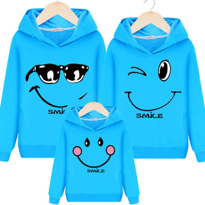 Family Matching Outfits  Sweatshirt   Hooded