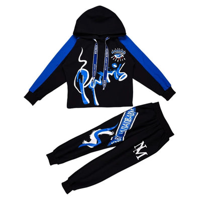 Clothes for Kids  2 PCS Set Long-sleeve Hip-hop Sports