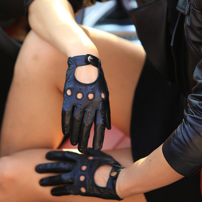 Leather Gloves Wrist Breathable for Women