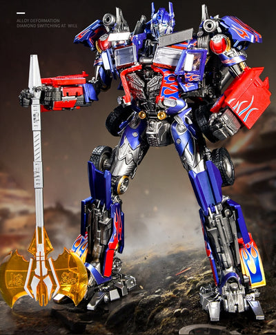 "Action Figures 13""  Commander Transformers Black Mamba LS 03F"