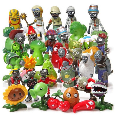Action  Figures  40Pcs/set Plants vs Zombies