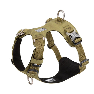 Dog Harness Waterproof Durable Nylon   Reflective Adjustable for Small Large Dogs Leash