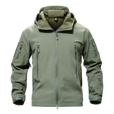 Winter  Airsoft Jackets for Men Military Tactical   Softshell  Hooded