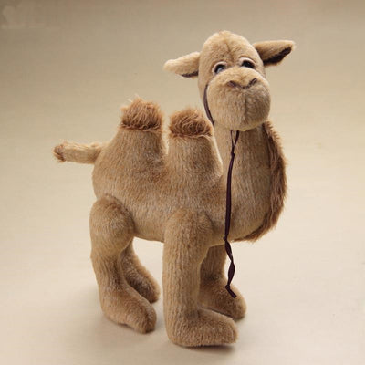 "Plush Toys 2pcs/lot  11"" and 12"" Handmade Arabs Teddy Bear Camel Full  Joint  Movable"