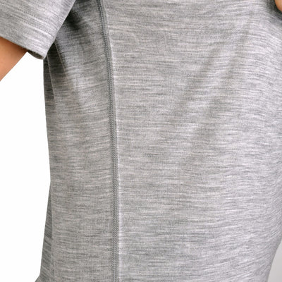 Mens T Shirts Merino Wool  Short Sleeve