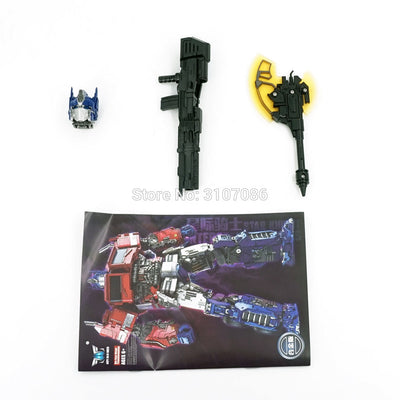 "Transformer  Action Figures 8""  Robot LS-13 LS-13B OP Commander"