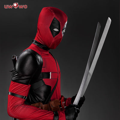 Flash Deadpool Halloween Costume  Full Set Leather Outfits
