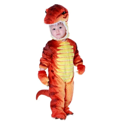 Boys Kids Halloween Costume  Little T-Rex Dinosaur