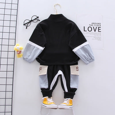Boys Clothes Casual Sports Suit  2Pcs/ Set