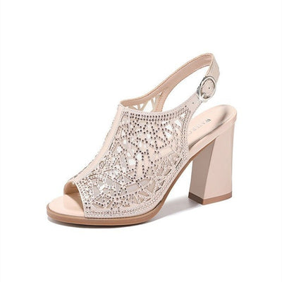 Women  Summer  Sandals Comforty Platform Hight Heel