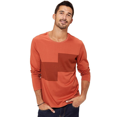 Cotton T Shirts for Men Long Sleeve Streetwear  Plus Size