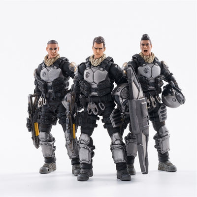"Action Figures 3PCS/Lot  4""  Starhawk 7th Army Blackhawk Fleet"