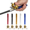 Fishing Rod Pole + Reel Mini Telescopic Portable Pocket