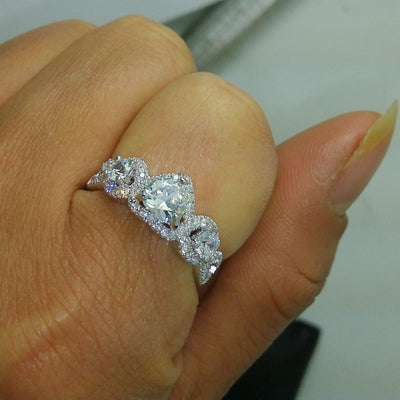 Wedding Engagement  Band  Ring