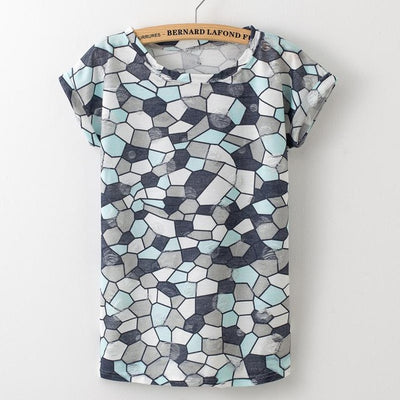 T Shirts for Women Short Sleeve  Printed  Vintage