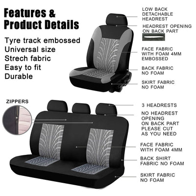 Car Seat Cover Full set and 2 front seats