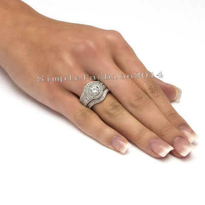 Womens 3 IN1 Rings Set