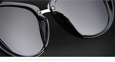 Women Sunglasses Big Frame Real Polarized Anti-UV400