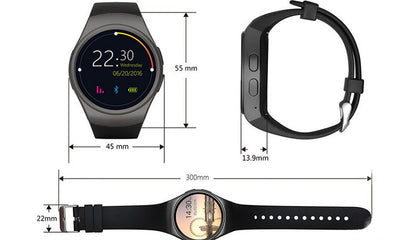 Heart Rate Monitor Smart Watch Passometer