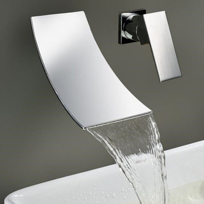 Bathroom Faucet  Wall Mounted Waterfall