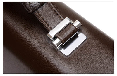 PU Leather Briefcase for Men