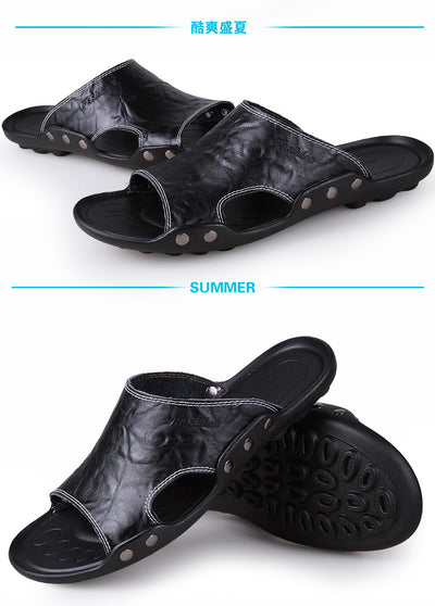 Mens Leather Sandals  Casual