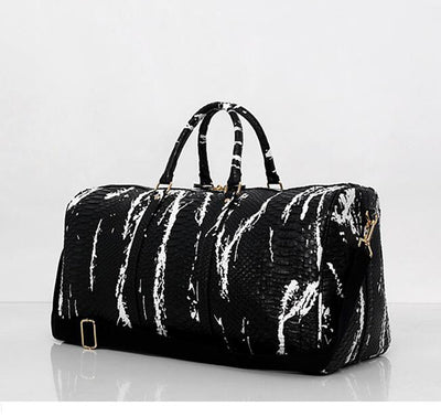 Gym PU Leather  Bag  Leisure Casual Style