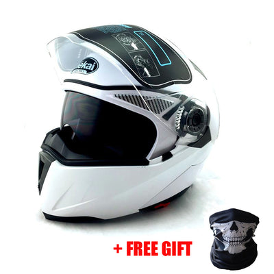 Motorcycle DOT ECE 105 Flip Up Helmets