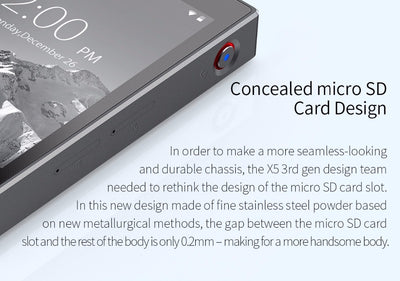 Music Player Portable with 32 G built-in Storage
