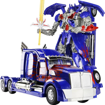 Action Figure Toys  Transformation Robots Music Car Model