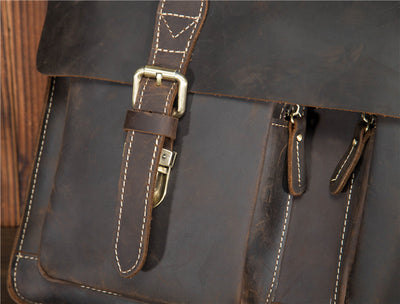 Briefcase for Men  Vintage Leather