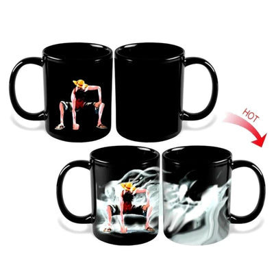 Coffee Mugs Monkey D Luffy Changing Color