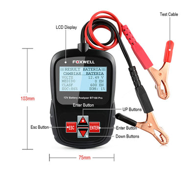 Battery Tester for Car