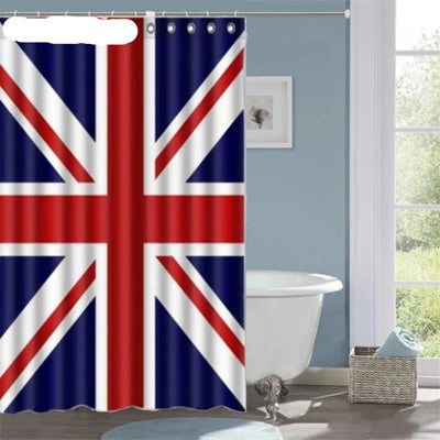 Shower Curtains Bathroom World Map Waterproof