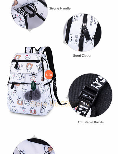 Backpacks for Teens Girls School Bags